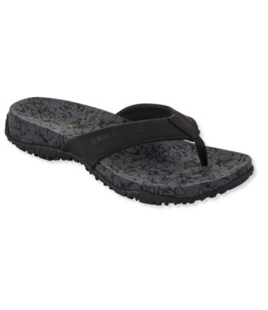 Women's Runabout Flip-Flops, Leather