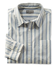 Signature Washed Poplin Shirt, Stripe
