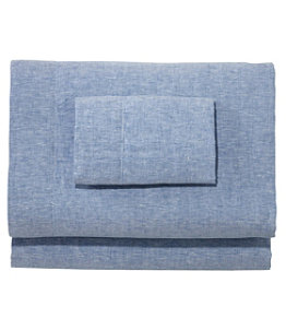 Sunwashed Linen Sheet Set, Twin