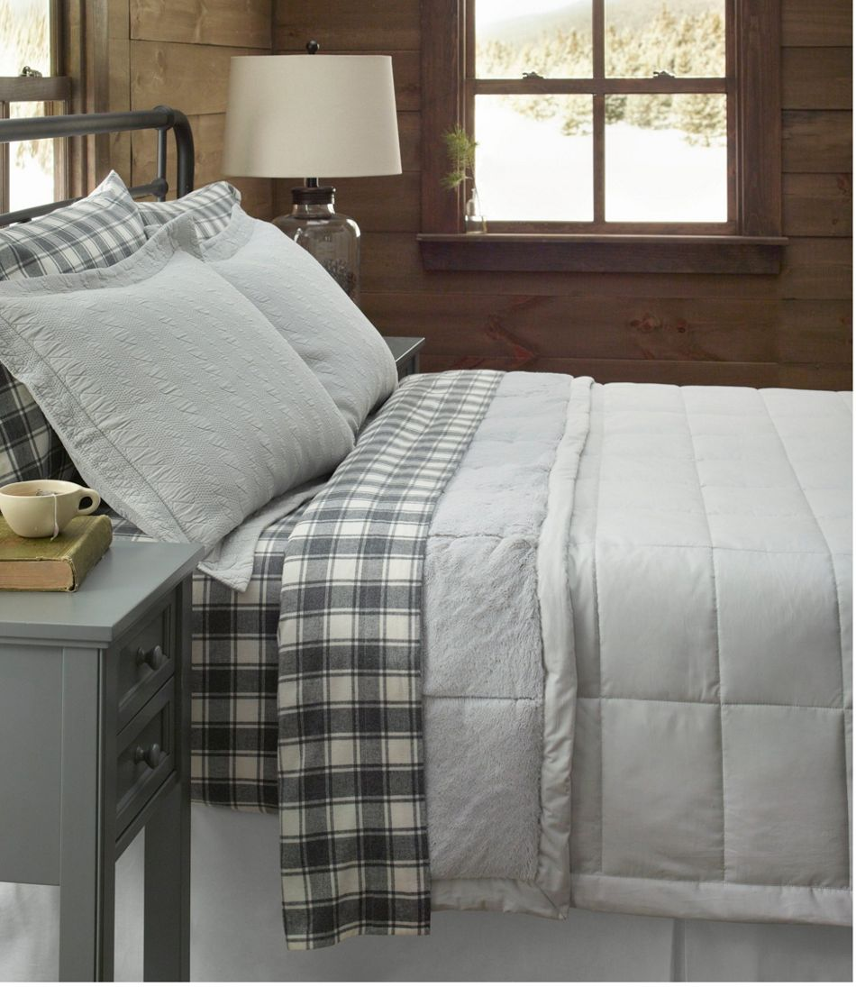 Ultrasoft Comfort Flannel Sheet Set Check
