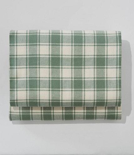 Ultrasoft Comfort Flannel Sheet Flat Check