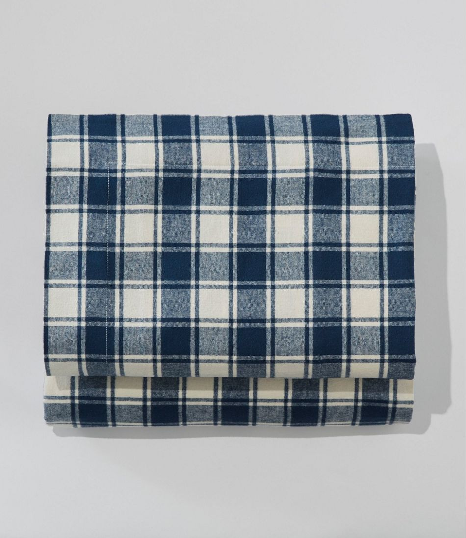 Ultrasoft Comfort Flannel Sheet, Flat Check