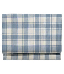 Ultrasoft Comfort Flannel Sheet, Flat Check