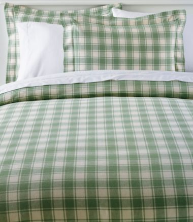 Ultrasoft Comfort Flannel Comforter Cover, Check