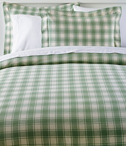 Ultrasoft Comfort Flannel Comforter Cover Collection, Check
