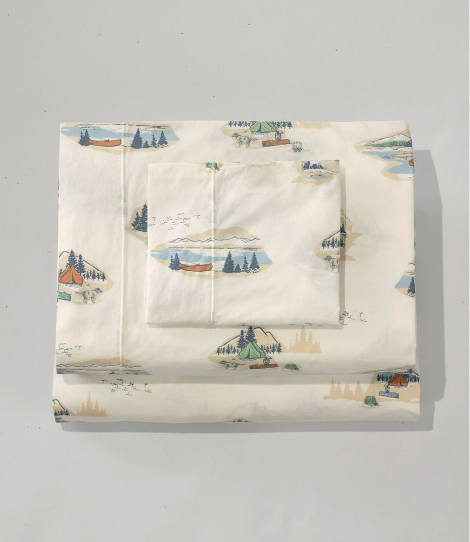 Lakeside Percale Sheet Collection