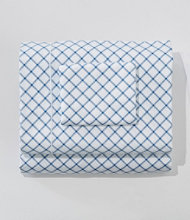 340-Thread-Count Sateen Sheet Collection, Lattice