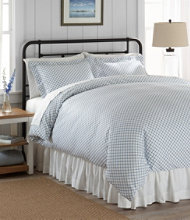 Sateen 340-Thread-Count Comforter Cover Collection, Lattice