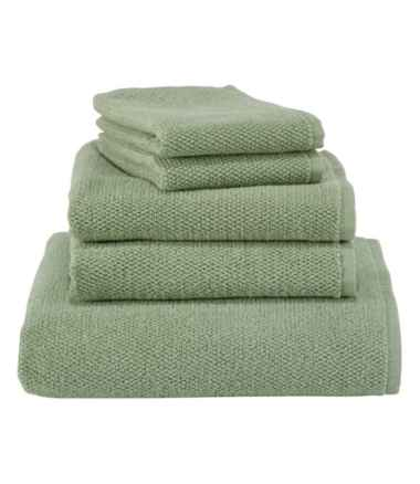 Organic Textured Cotton Towel