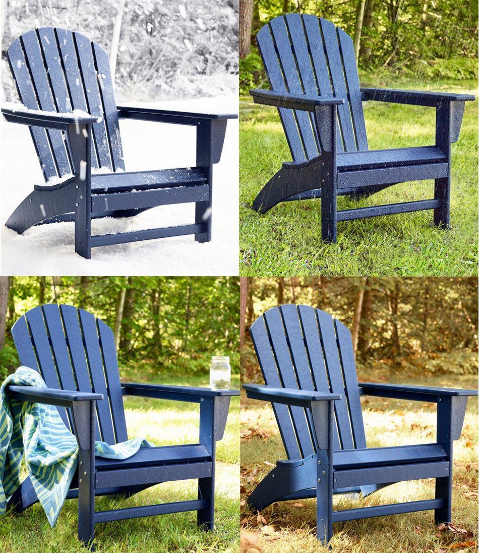 All-Weather Waterfall Adirondack Chair