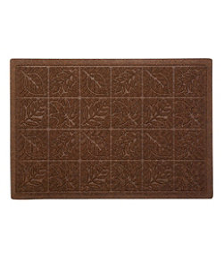 Heavyweight Recycled Waterhog Doormat, Leaf