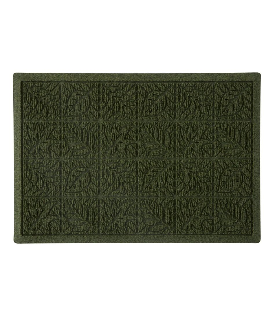 Heavyweight Recycled Waterhog Doormat, Leaf