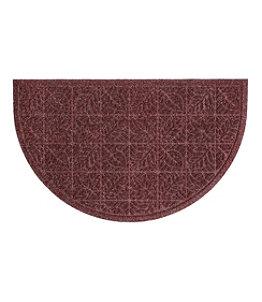 Heavyweight Recycled Waterhog Doormat, Crescent Leaf