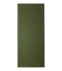 Heavyweight Recycled Waterhog Mat Runner, Leaf
