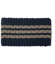 Nautical Rope Doormat, Triple Stripe