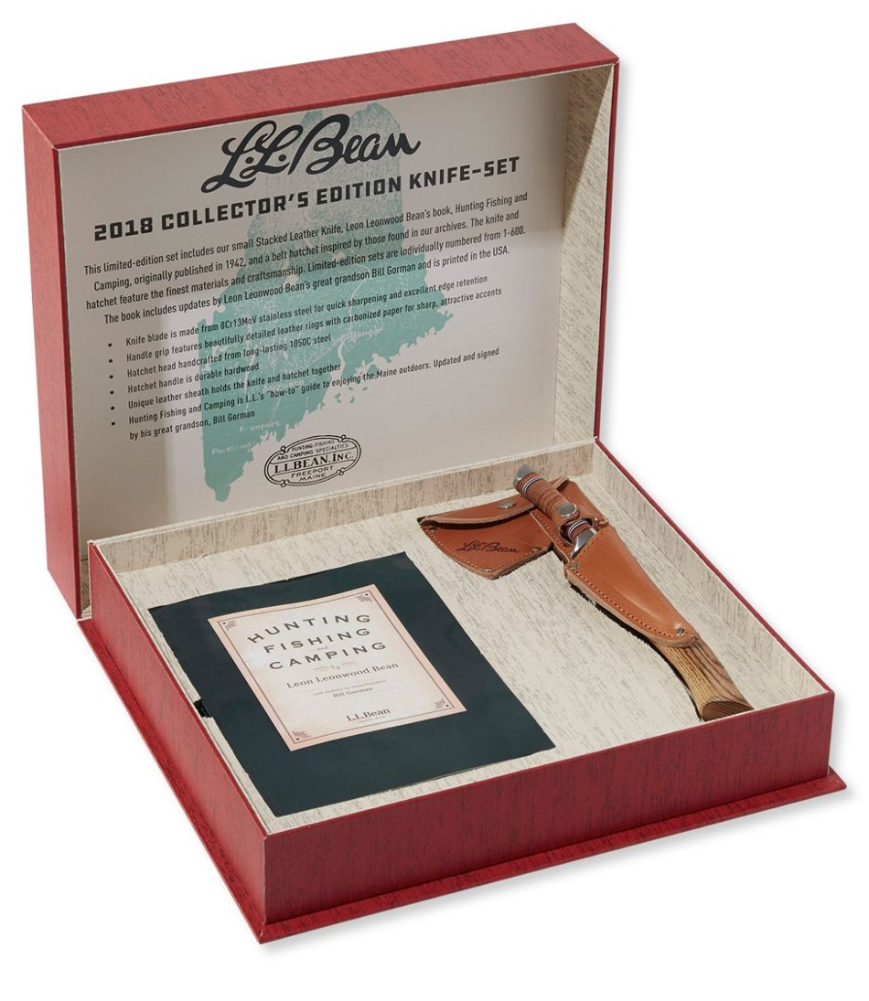 L.L.Bean 2018 Collector's Knife and Hatchet Set