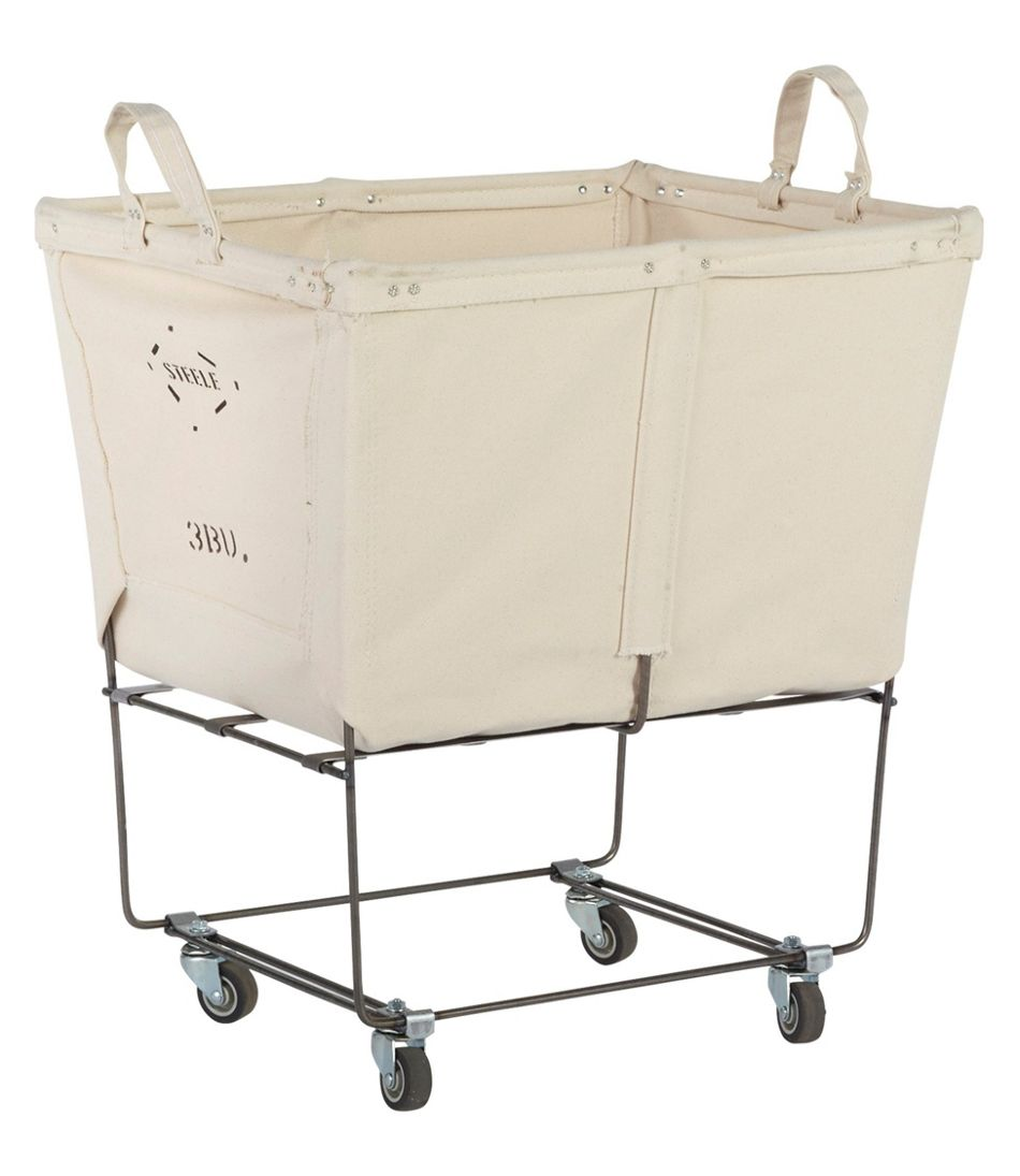 Steele Three Bushel Elevated Cart with Casters