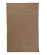 Indoor/Outdoor Basketweave Rug, Neutral Solid