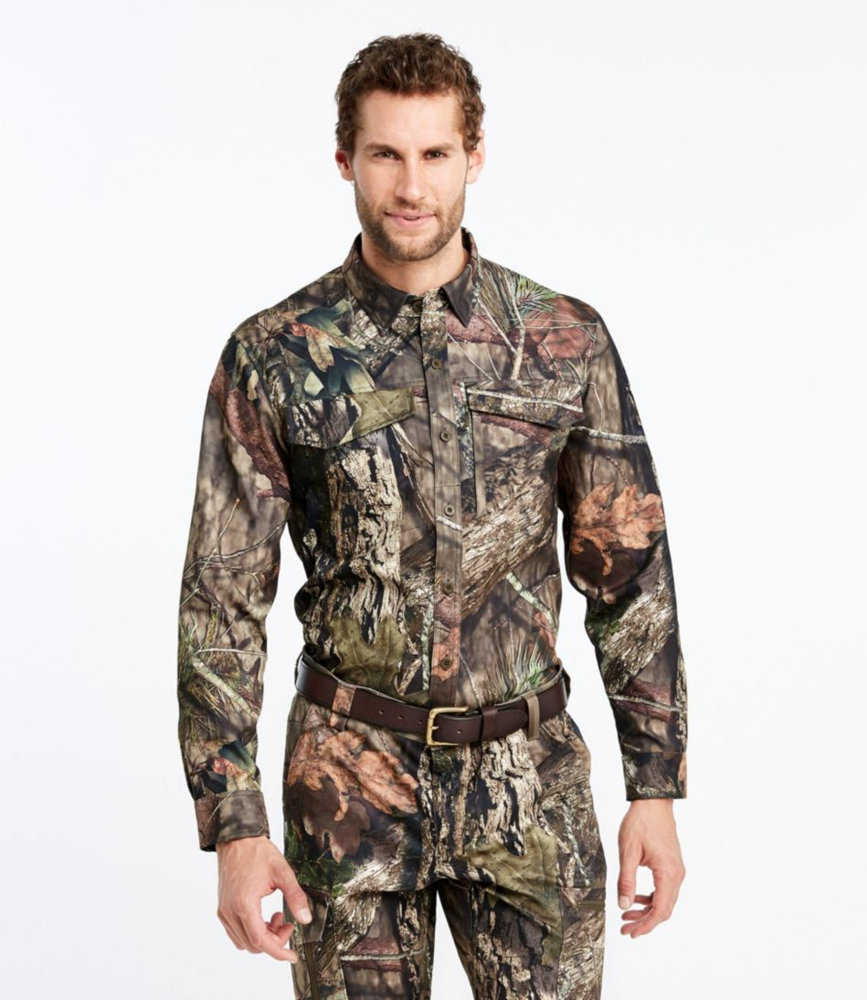 Men's Big Game Hunter's Shirt, Camouflage