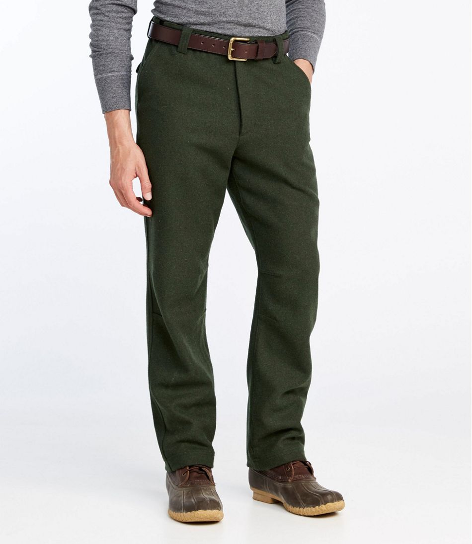 1920s Men's Clothing Mens Maine Guide Wool Pant $139.00 AT vintagedancer.com