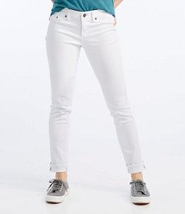 Women's L.L.Bean Performance Stretch Jeans, White