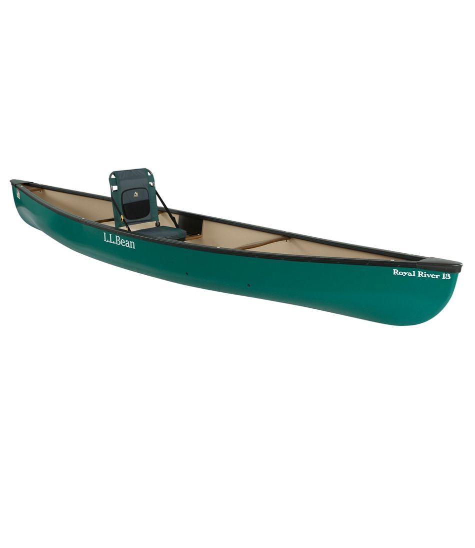 L.L.Bean Royal River Solo Canoe, 13'