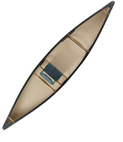 L.L.Bean Royal River Solo Canoe, 13'