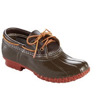 Women's Two-Eye Boat Gum Shoe, Leather