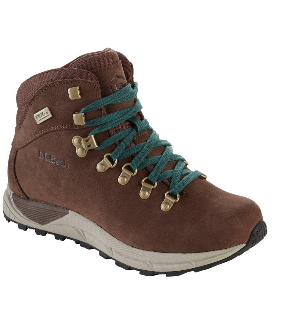 Women's Alpine Hiking Boots, Nubuck