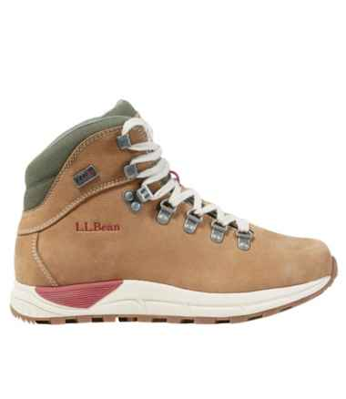 Women's Alpine Hiking Boots, Nubuck