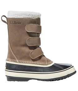 Men's LLBean Snow Boot Hook & Loop Suede