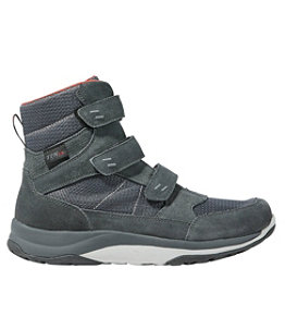 Men's Snow Sneakers, Mid Hook-and-Loop