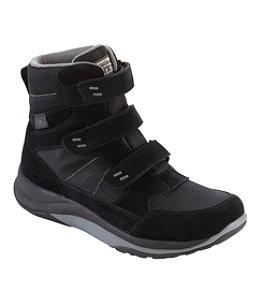 Men's Snow Sneakers, Mid Hook-and-Loop