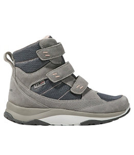 Women's Snow Sneakers, Mid Hook and Loop
