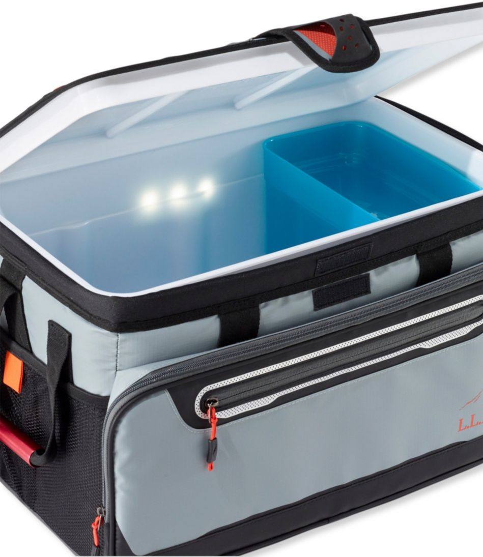 L.L.Bean Zipperless Cooler with Solar Light