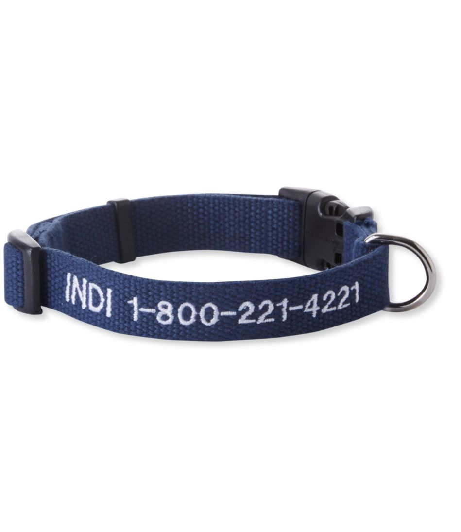 Personalized Soy Pet Collar