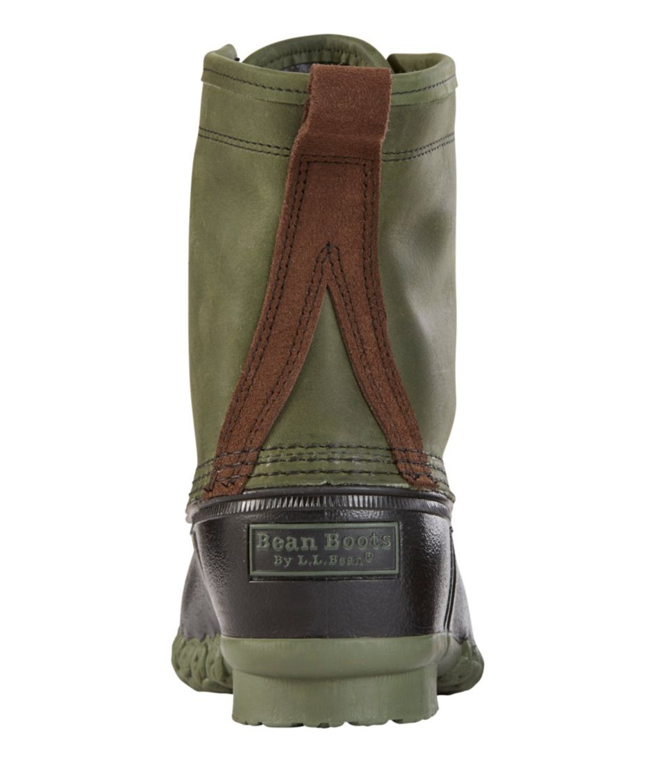 "Men's Small Batch L.L.Bean Boot, 8"" Leather Chamois-Lined"