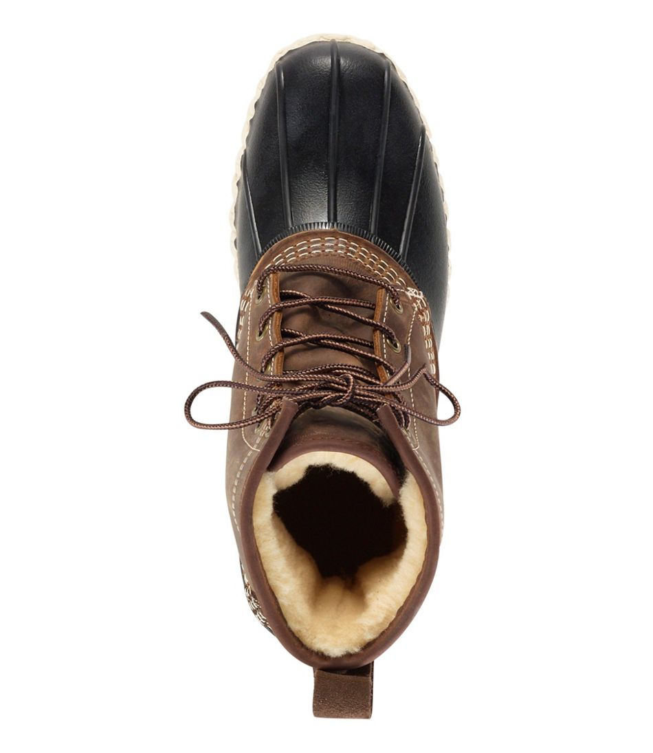 "Men's L.L.Bean Boot, 8"" Shearling-Lined"