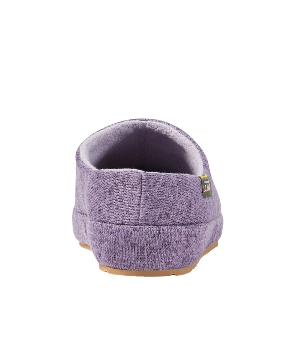 Women's Sweater Fleece Slipper Scuff