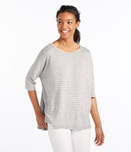 Relaxed Knit Pullover, Stripe