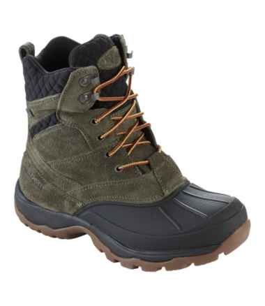 Storm Chaser Suede Boots, Lace-Up