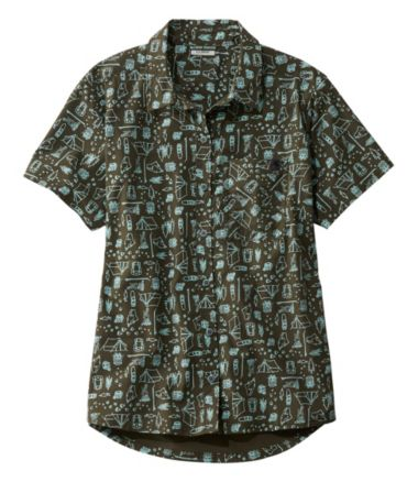 Beach Cruiser Summer Shirt, Short Sleeve Print