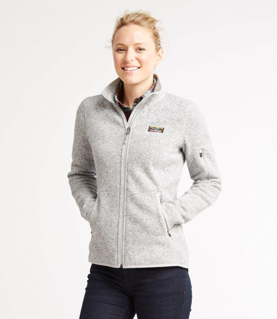 Women's L.L.Bean Sweater Fleece Full-Zip Jacket
