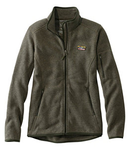 Women's L.L.Bean Sweater Fleece Full-Zip Jacket