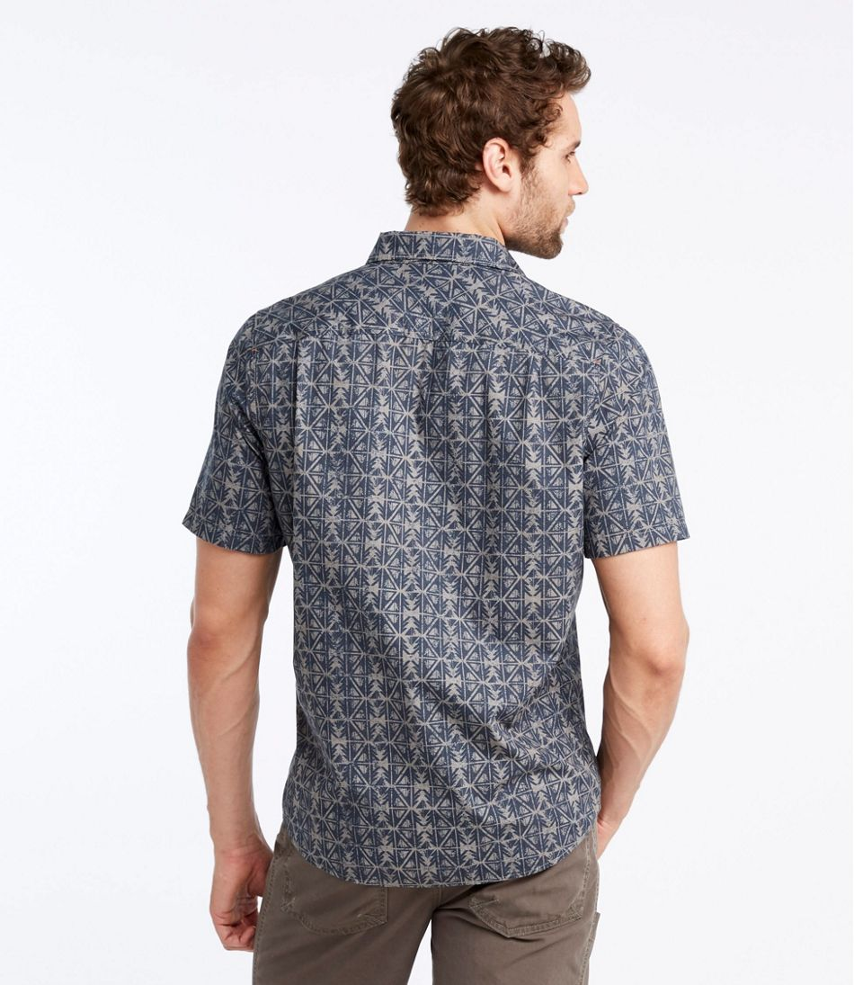 Otter Cliff Shirt, Short-Sleeve Print