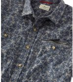 Men's Otter Cliff Shirt Short-Sleeve Print