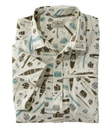 Men's Otter Cliff Short Sleeve Shirt, Print