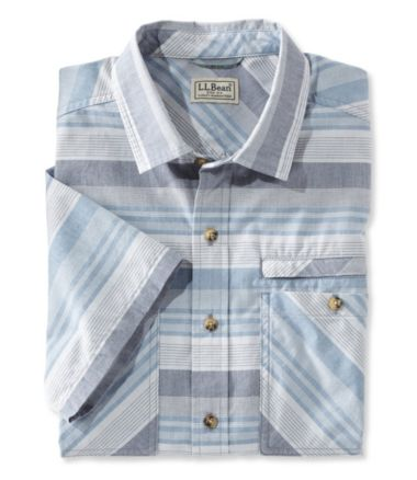 Men's Otter Cliff Short Sleeve Shirt, Stripe