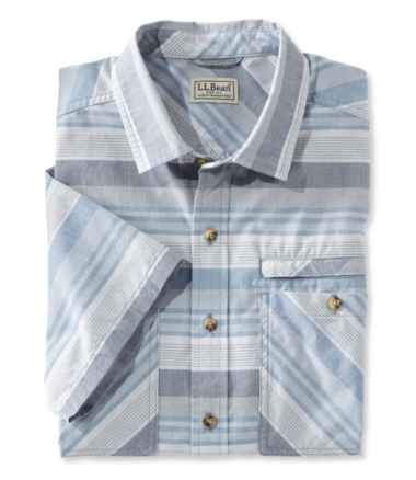 Men's Otter Cliff Shirt Short-Sleeve Stripe