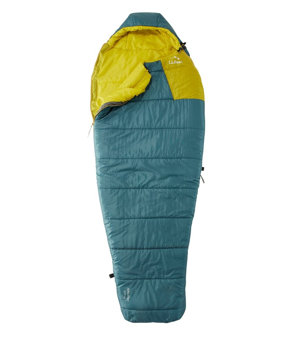 Adults' Adventure Sleeping Bag, Mummy 25°